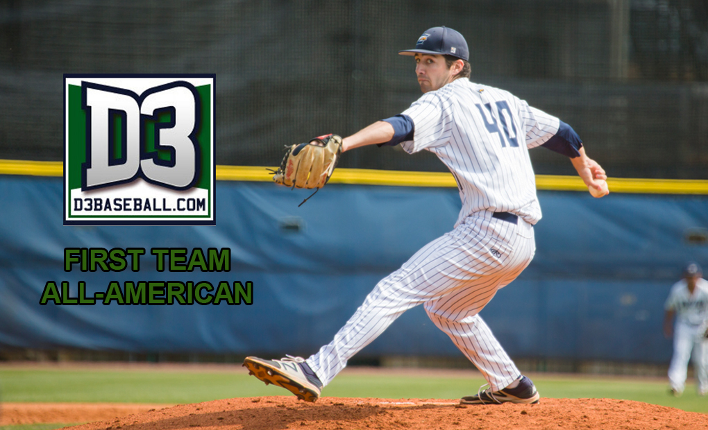 Billy Dimlow Selected to D3Baseball.com All-America First Team