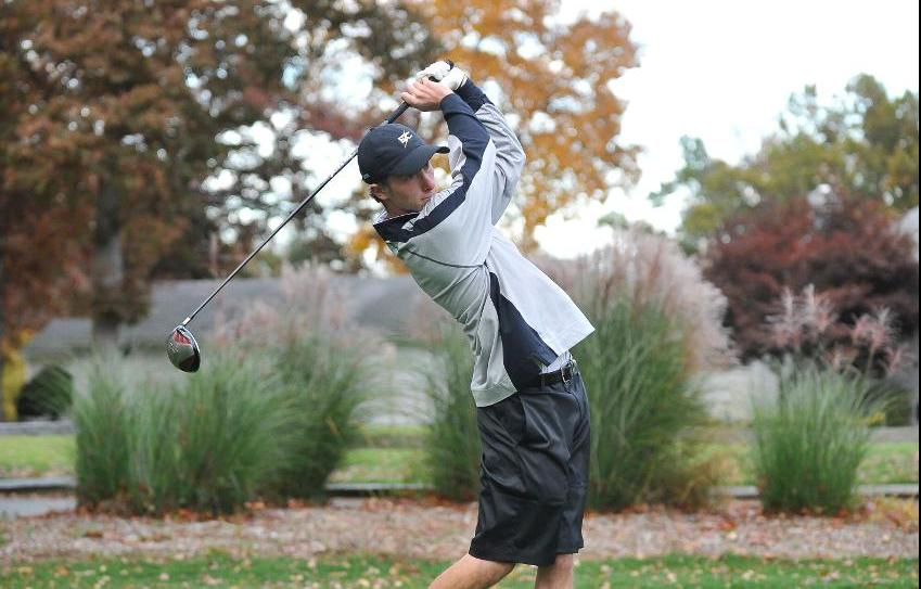 Men's Golf 23rd After Round One of Duke Nelson