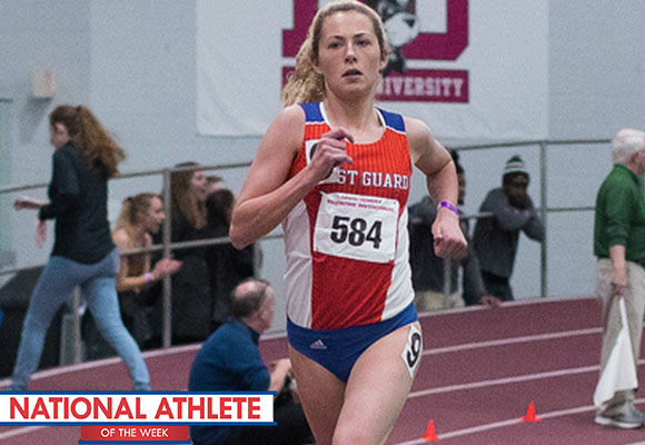 Mooney Named National Runner of Week for Third Time This Season