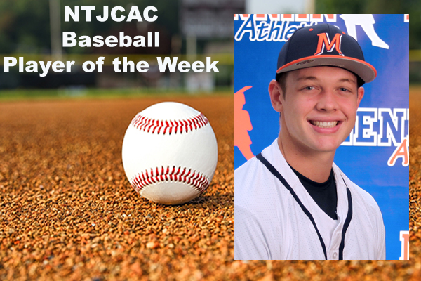 NTJCAC Baseball Players of the Week (April 9-15)