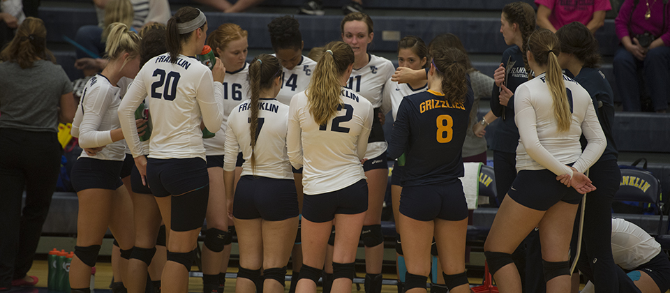 Franklin Picked to Finish Seventh in League's Preseason Volleyball Poll