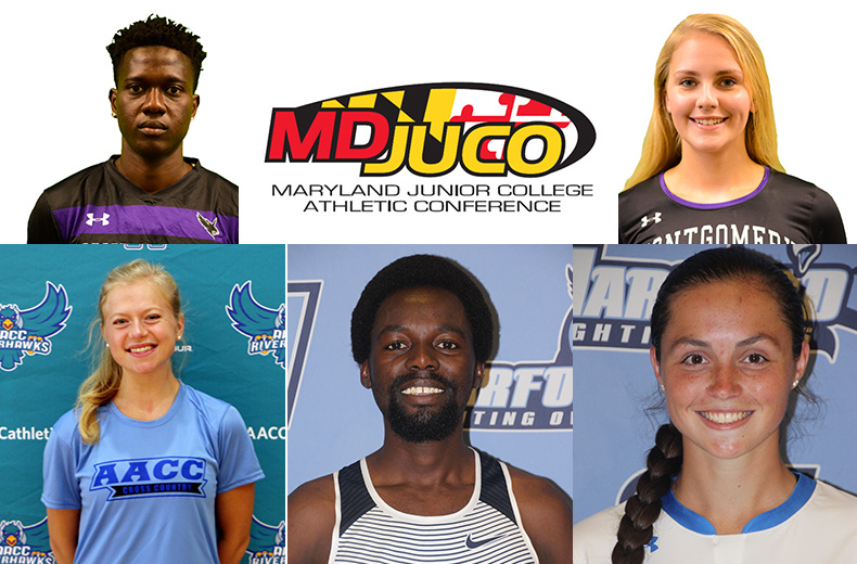 Maryland Juco Names September Athletes of the Month