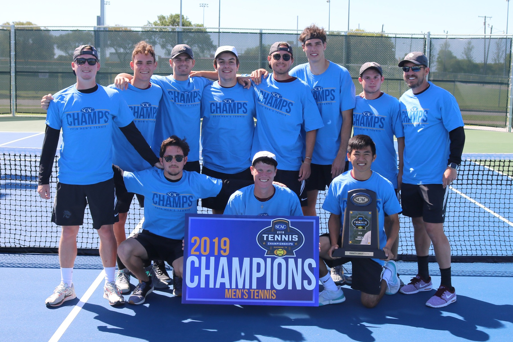 #13 Trinity Wins 10th Straight SCAC Championship