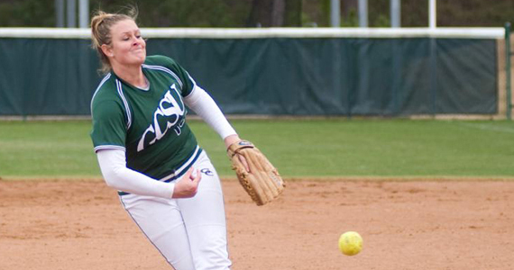 Burnett Shines as Bobcats Split Two with Bearcats
