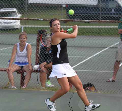 Gators open with a 6-3 win over Bay Path in women's tennis