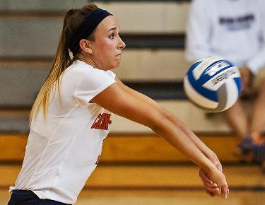 Volleyball downed in straight sets at Lincoln Memorial