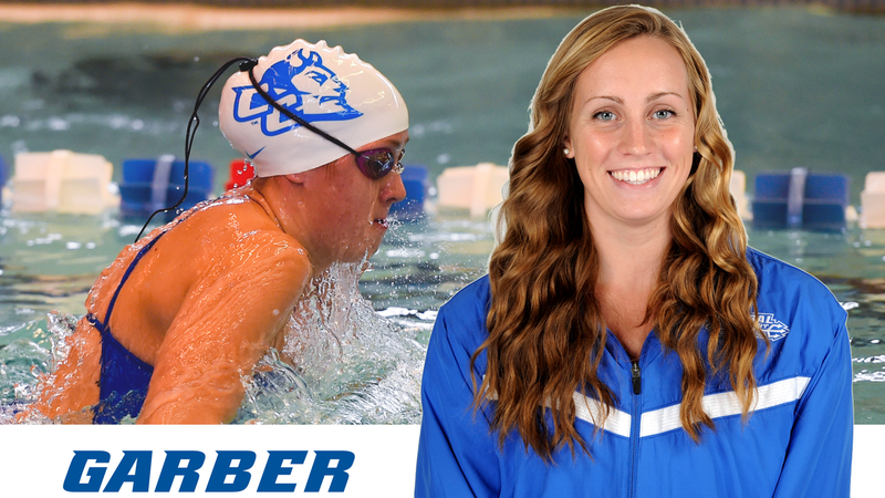 Garber Sets New School and Conference Record in 200 Breast at NCAA Championships
