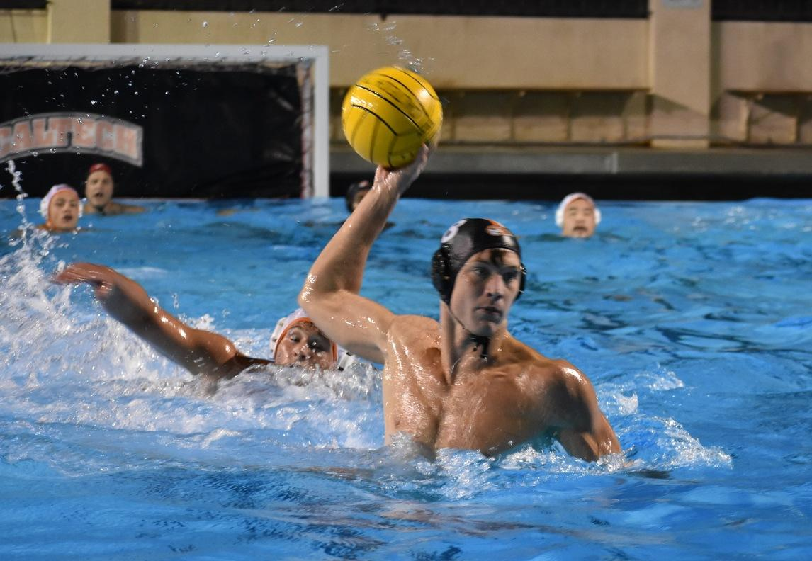 Men's Polo Hangs with Chapman at Home