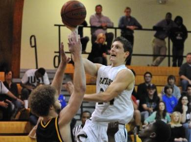 Men's Basketball Runs Away from Maryville, 69-56