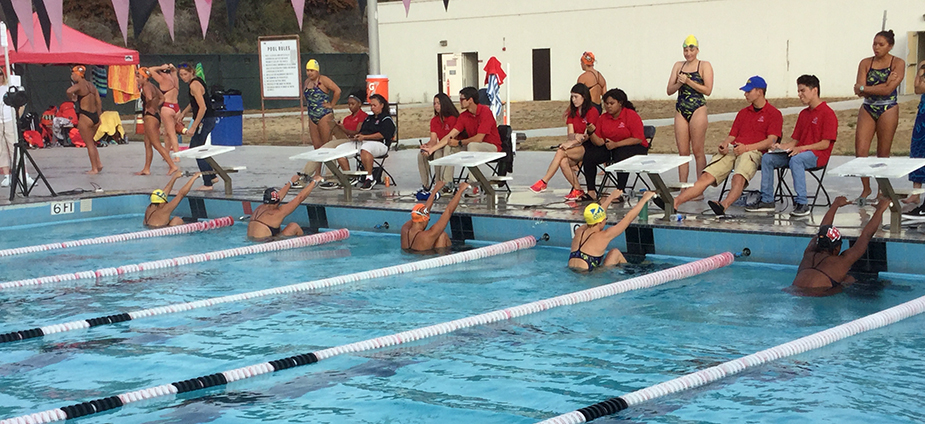 Swimming Opens Season at Cal State East Bay