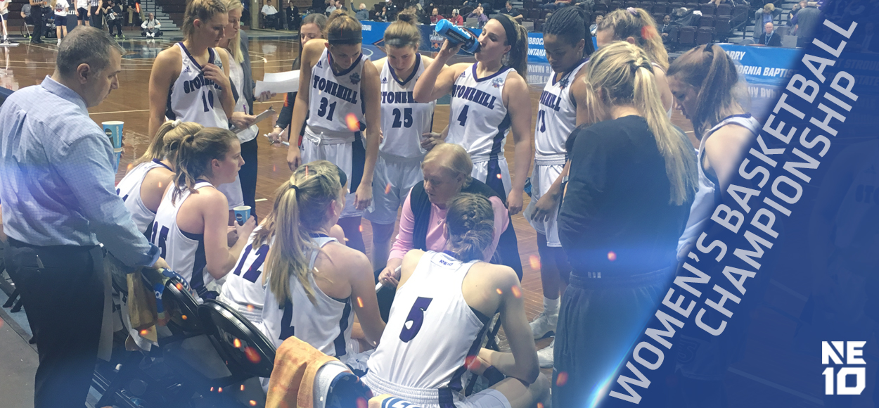 Elite Eight: Stonehill's Comeback Attempt Falls Just Short Against Indiana (Pa.)