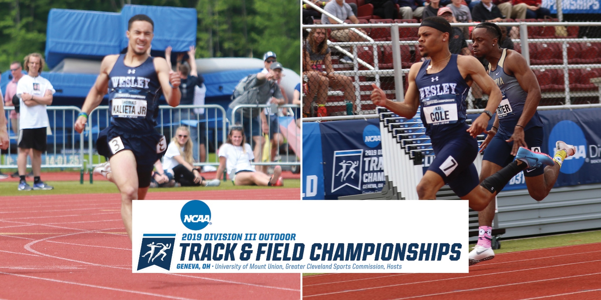 Cole, Kalieta advance to finals at NCAA Outdoor Championships