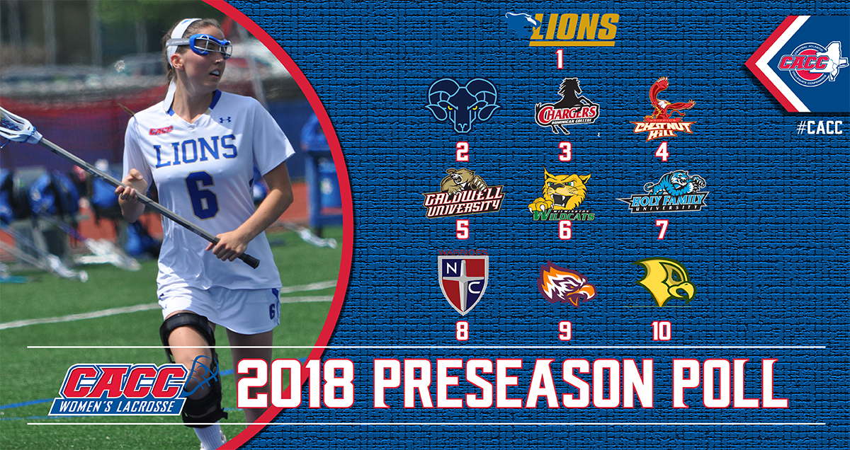 WOMEN'S LACROSSE TABBED THIRD IN 2018 CACC PRESEASON POLL