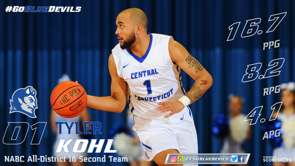 Kohl Named NABC All-District 18 2nd Team