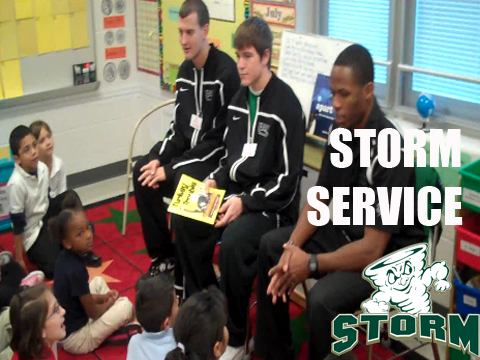 Storm Ballers Give Back in the Community (VIDEO STORY)
