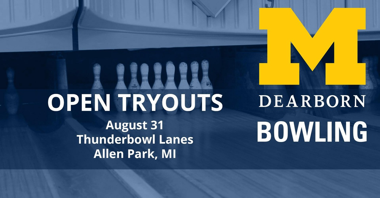 Men's and Women's Bowling Tryout set for Aug. 31