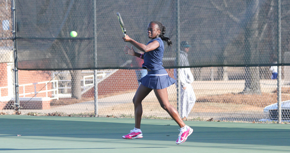 GC Women's Tennis Dominates Fall Championships Day One