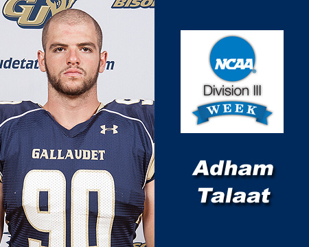 Division III Week Student-Athlete Spotlight: In My Words by Adham Talaat