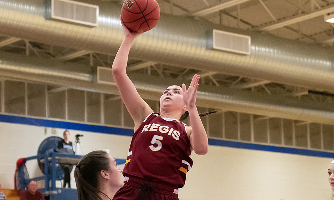 Women's Hoop Battles Nationally Ranked Monks in GNAC Opener