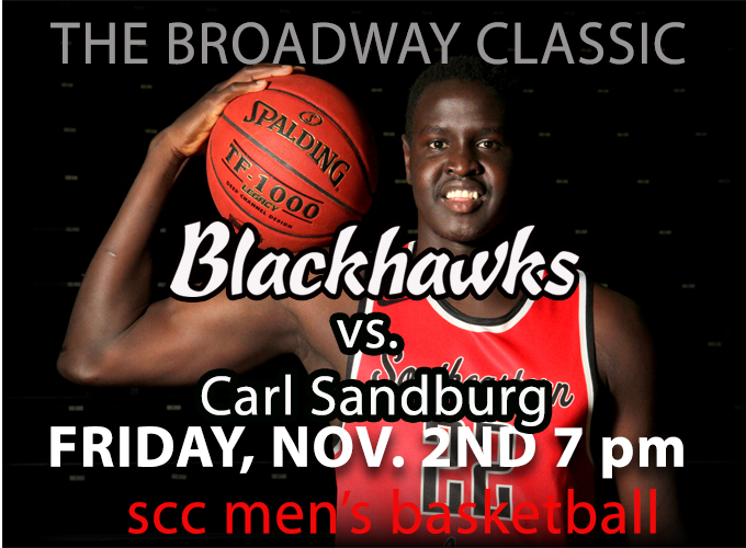 Men's Basketball Opens Up with Carl Sandburg