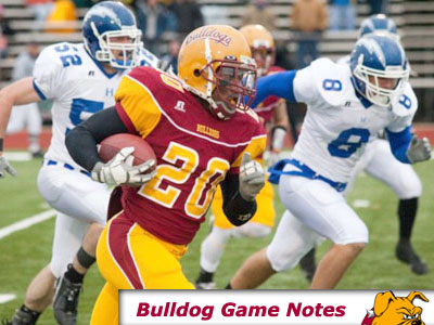 Football Game Notes: SVSU (Nov. 7)