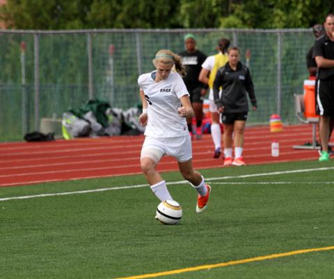 Gators best Maritime in Skyline Women's Soccer Action