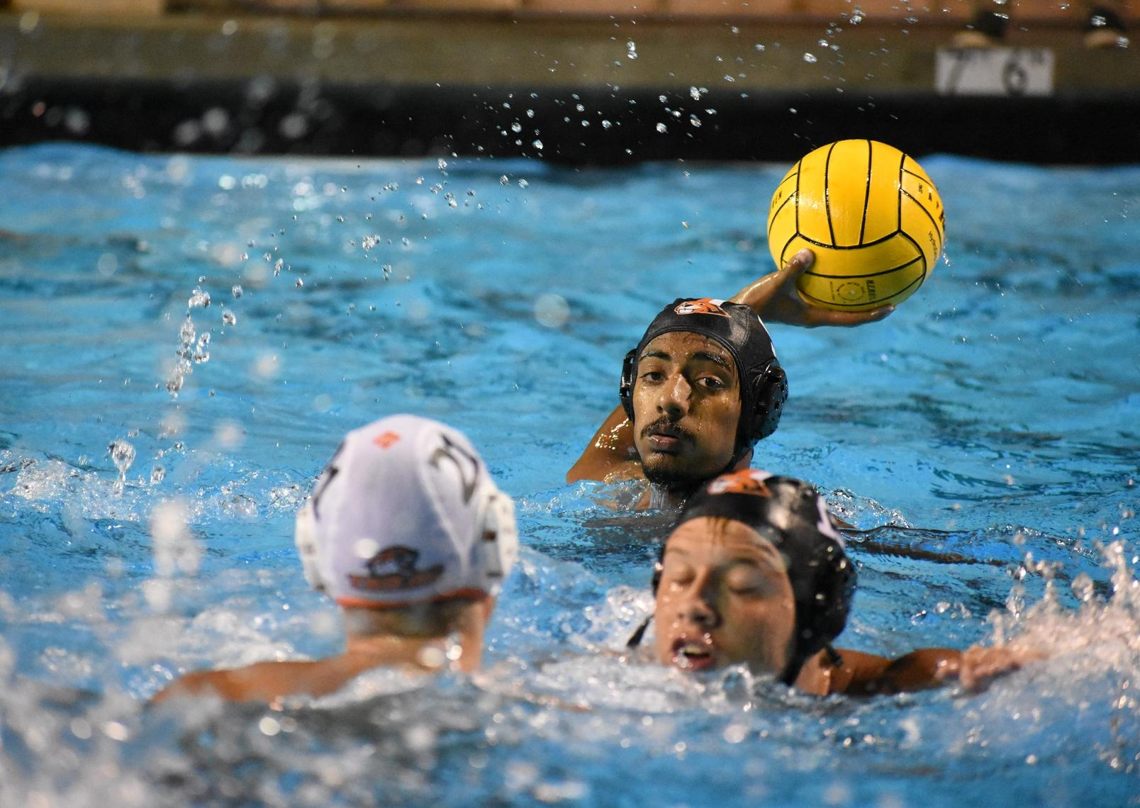 MEN'S WATER POLO WINS FIRST SCIAC GAME IN 16 YEARS