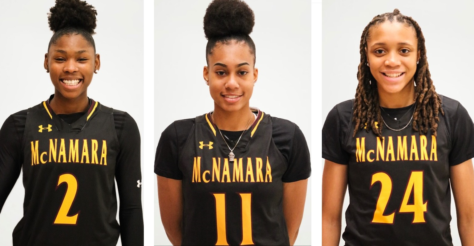 Bishop McNamara and their dynamic trio are poised for a run to the WCAC Title.