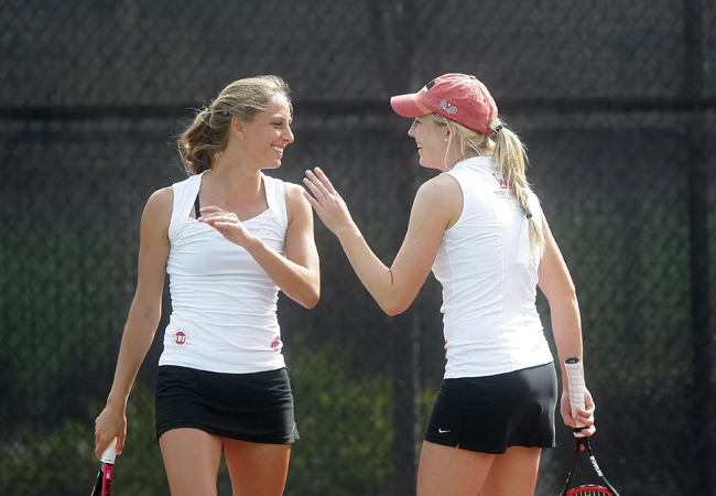 Women's Tennis Captures First 2013 WCC Win At USF