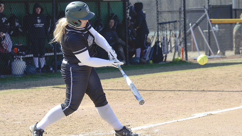 Softball Splits With Visiting Louisburg, 6-4, 2-8