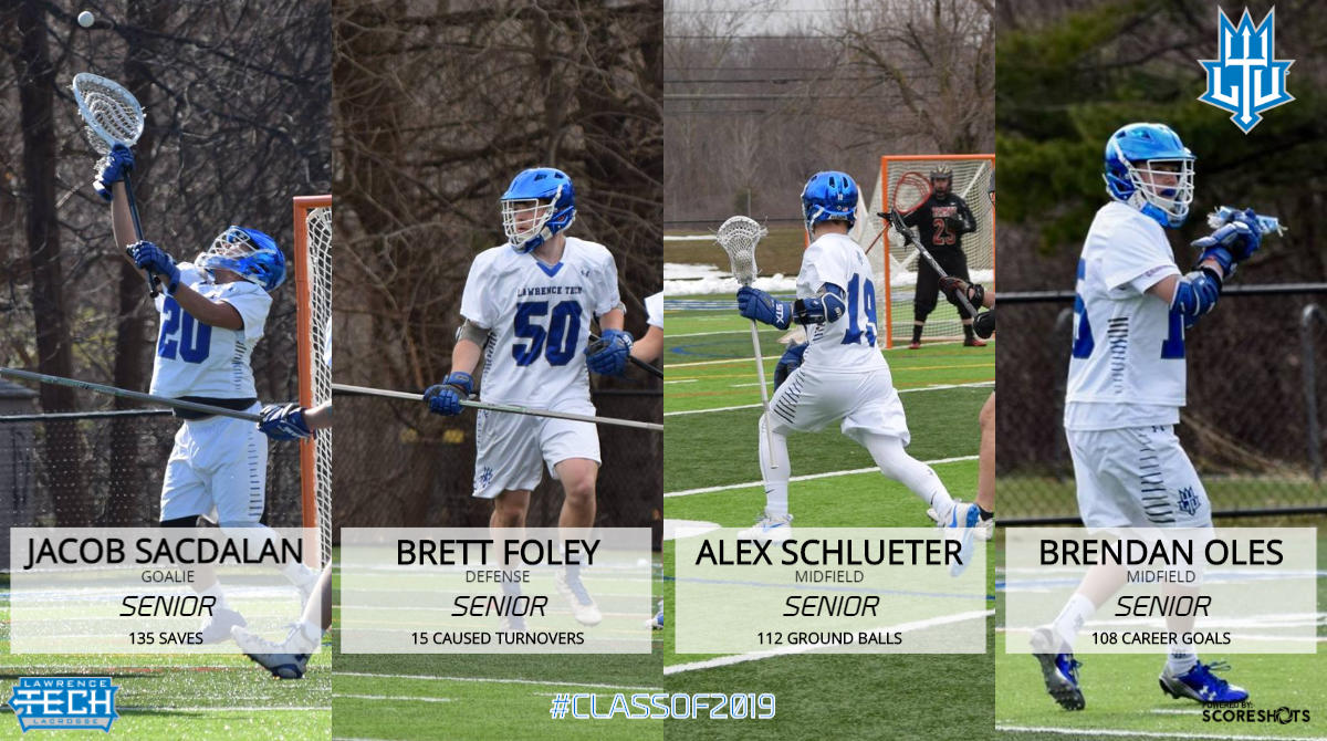 WEEKLY PREVIEW: Men's Lacrosse Holds Senior Day in Last Home Game of Season against (9) Siena Heights; Travel to Play (2) Madonna on Saturday