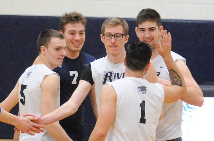 Men's Volleyball: Raiders drop the Lasers in 3 sets, 3-0