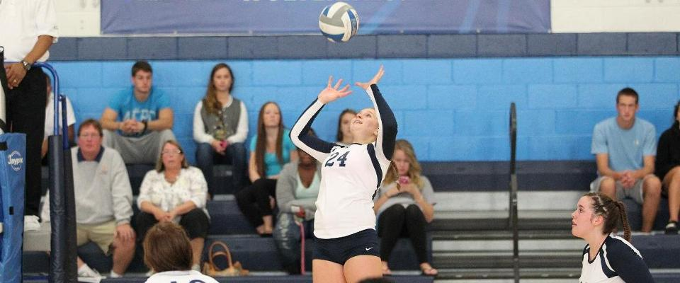 Volleyball Drops Brandywine, Falls to Bryn Mawr