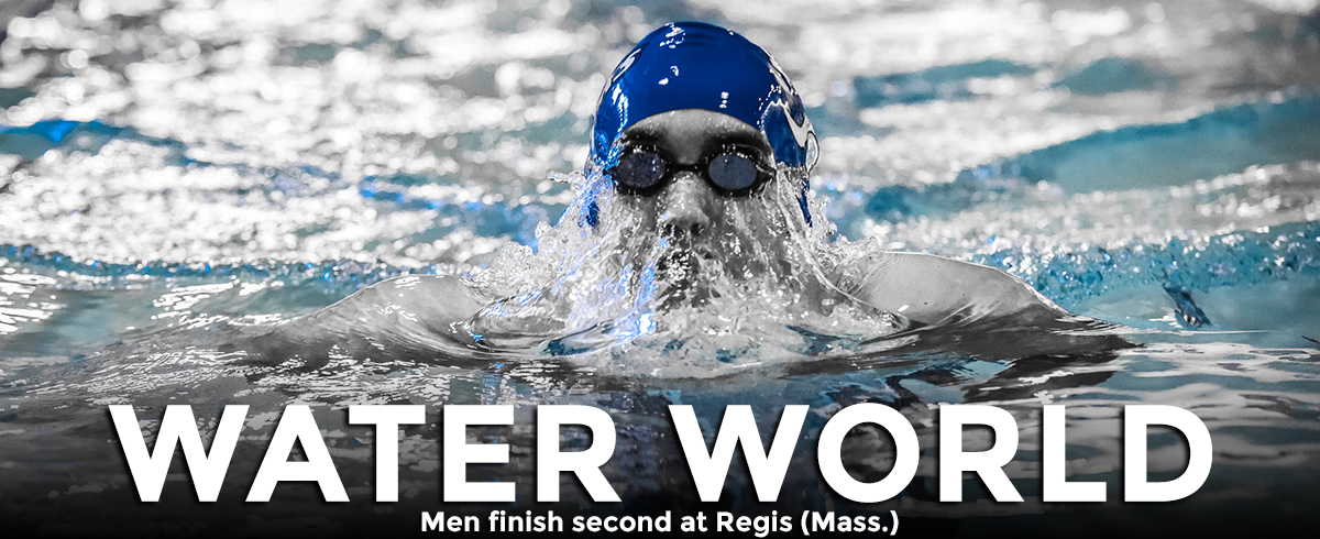 Men Finish Second at Regis (Mass.)