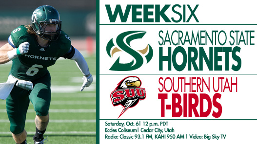 Football Returns to Southern Utah for Big Sky Matchup