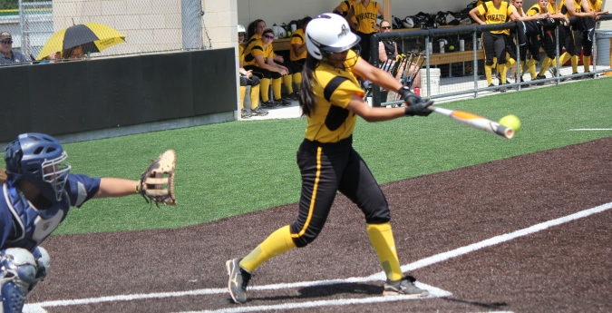 Pirates rout Schreiner for run-rule win