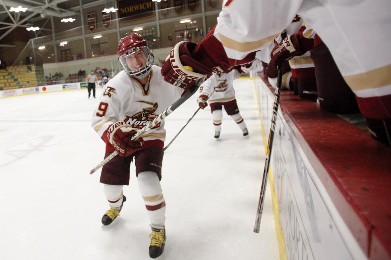 Women's Hockey: Cadets headed to Rochester, N.Y. again for D-III Championship