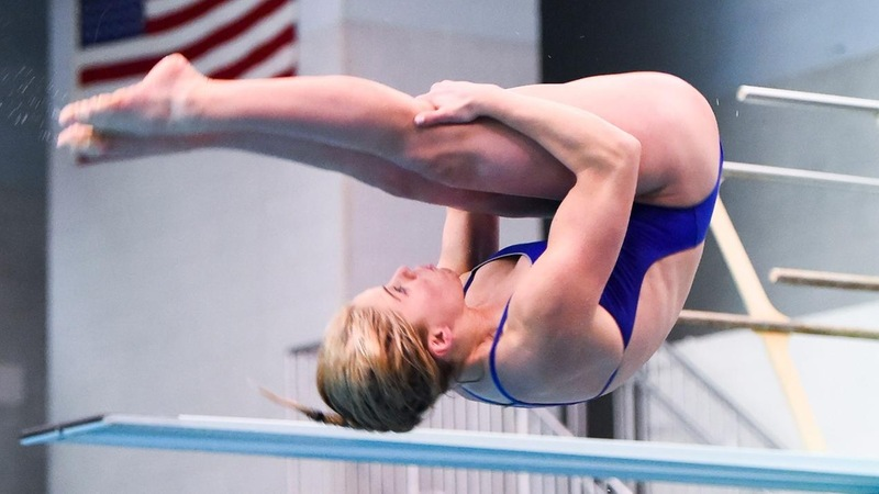 Durham Places 30th in 3-Meter at NCAA Diving Zones