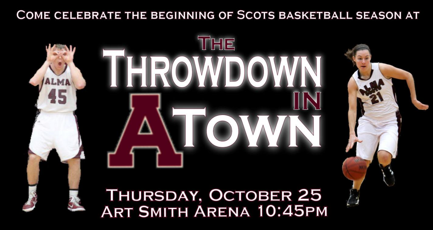 Basketball teams hosted Throwdown in A-Town on Thursday evening