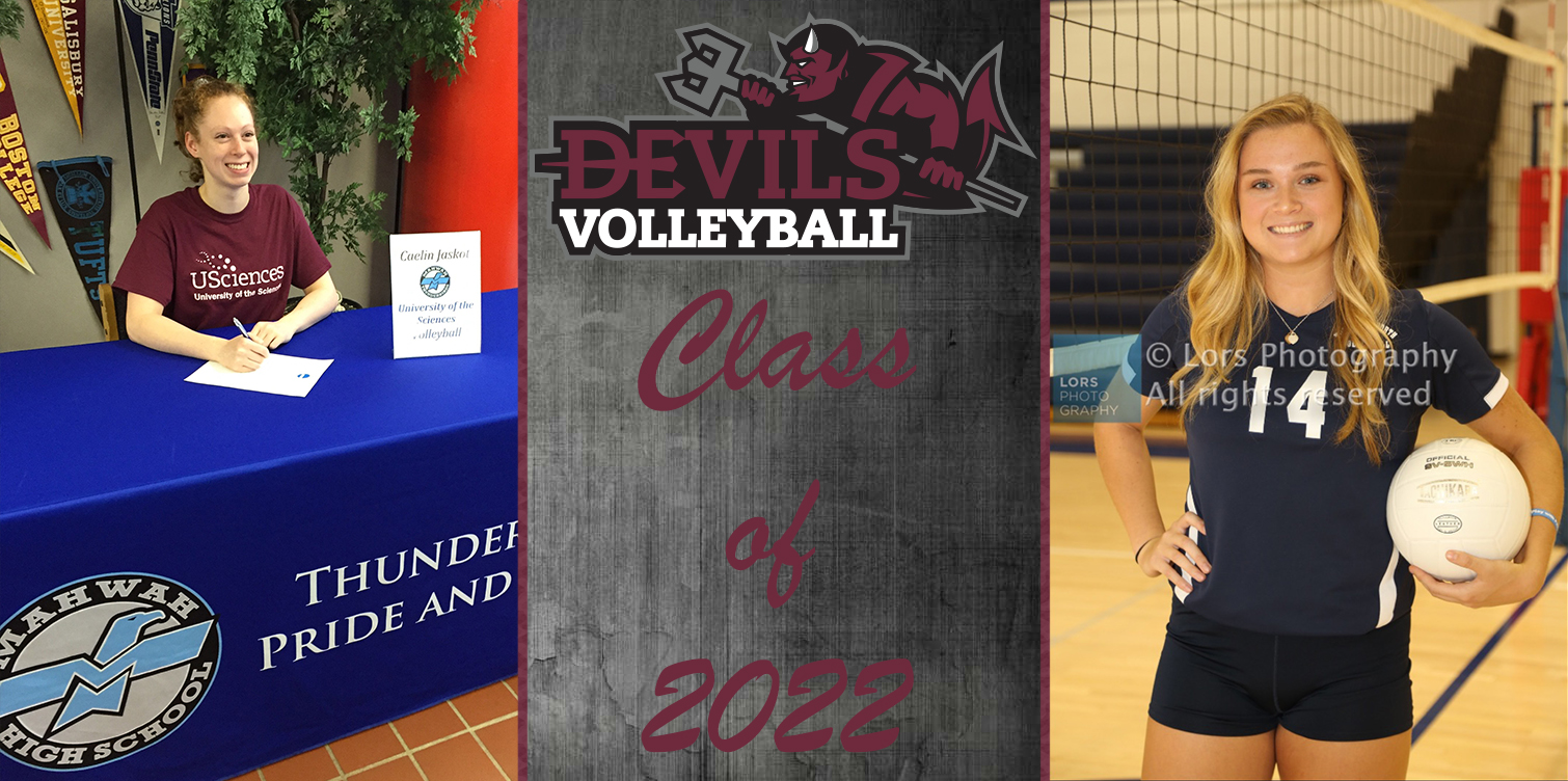 Volleyball Signs Galis and Jaskot to Class of 2022