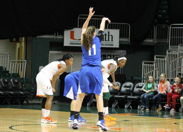 Women's Basketball Falls at Miami