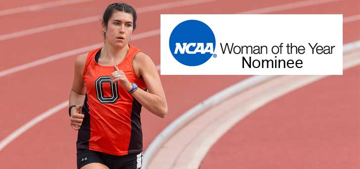 Nolin Named NCAA Woman of the Year Finalist