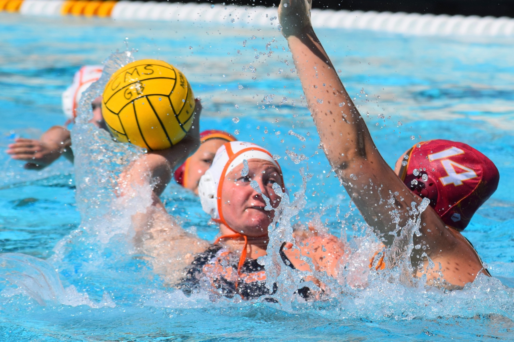 Women's Water Polo Competes at Whittier
