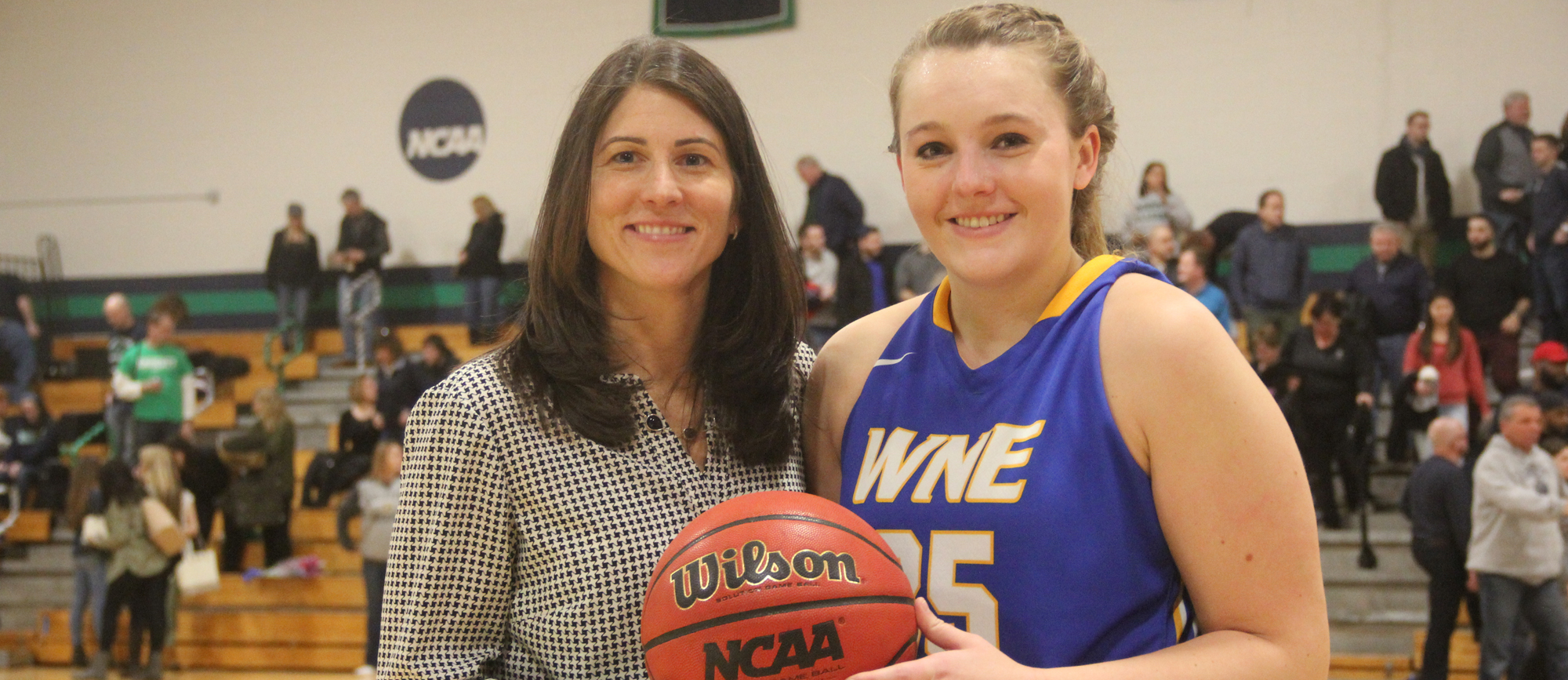 Anderson Reaches 1000-Point Milestone as Golden Bears Drop Regular Season Finale at Endicott, 71-60