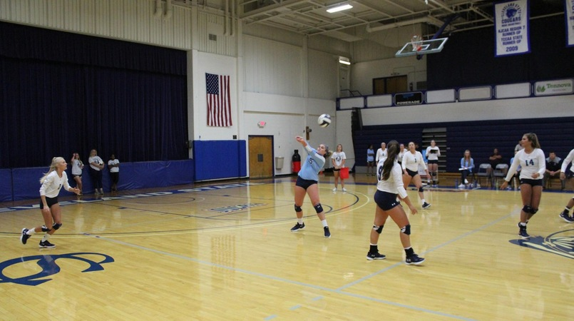 Lady Cougars Drop Match to Snead State, 0-3