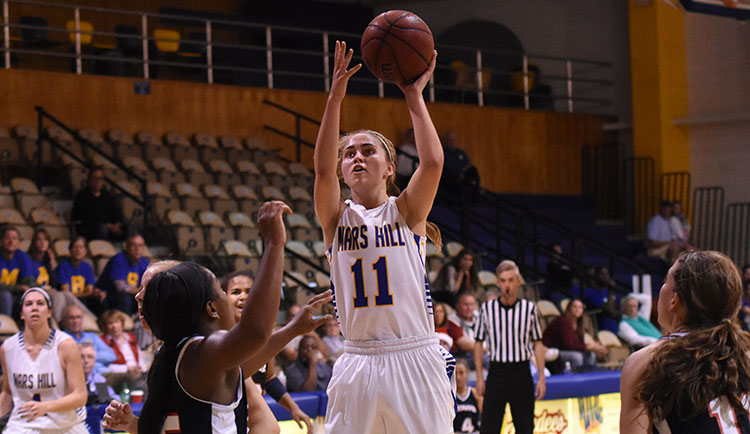 Women's Basketball Holds Off Lees-McRae