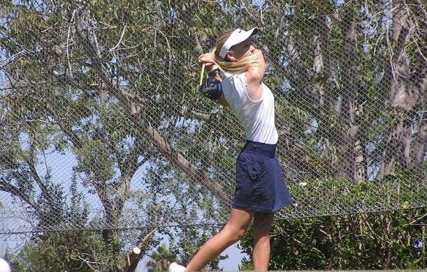 Golfers Stribling and Crowl compete in third conference match