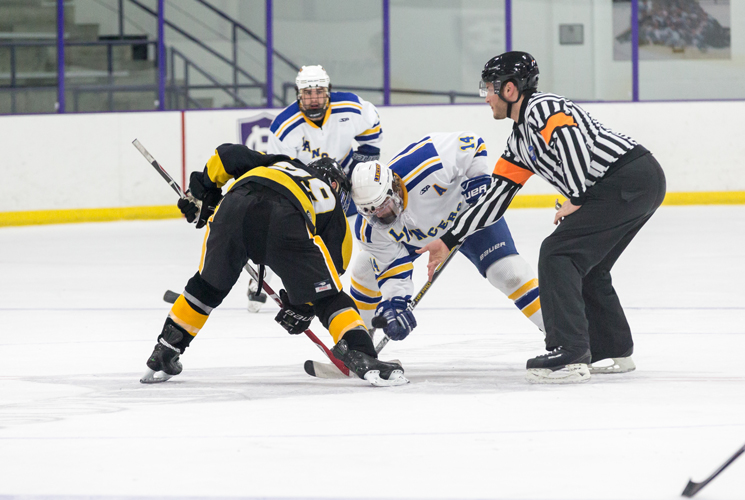 Plymouth Powers Through Men's Ice Hockey