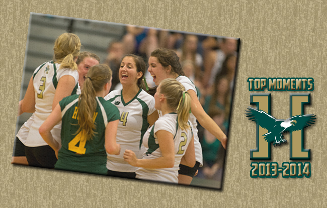 Top Moments 2013-2014: Husson Volleyball Picks Up Three Wins At UMPI