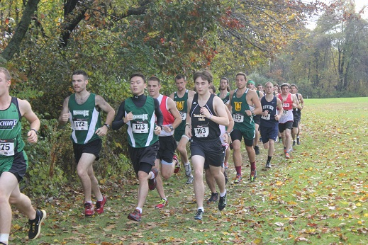 Men's XC Team Finishes 3rd at YSCC Championships